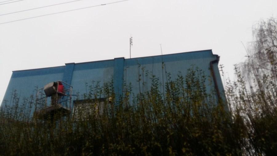 czyszczenie elewacji na wysokości naramowice