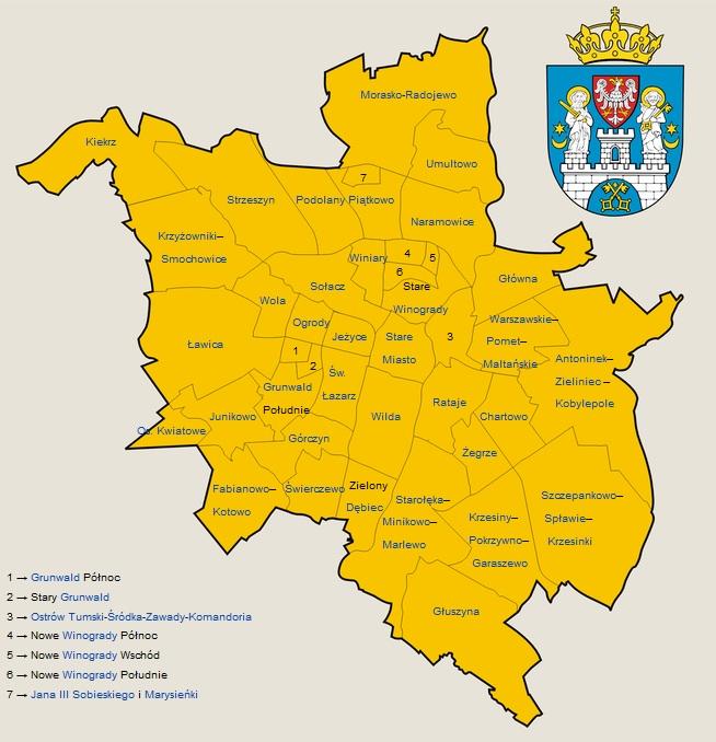 usługi sprzątające Poznań obszar działania