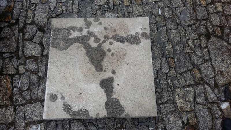 usuwanie plam oleju Poznań przed